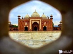 Mosque at Taj