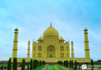 Taj in Color
