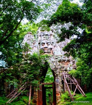West Gate of Angkor Thom