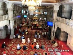Inside Gurudwara