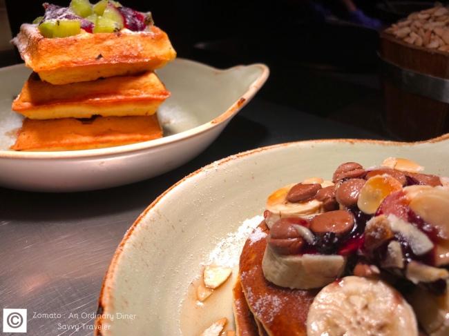 Pancaks and Waffles